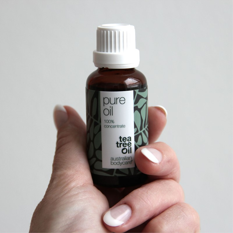 Tea Tree Oil is an essential oil, pale yellow in colour with a fresh camphoraceous smell. It is extracted from the leaves of the Melaleuca alternifolia which is native to the Lismore region of New South Wales.
